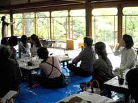 私学事業団 京都 苔玉教室