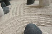 砂紋 渦 枯山水