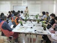 私学共済 盆栽教室